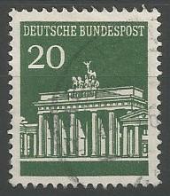 porta Brandenburgensis, 1791