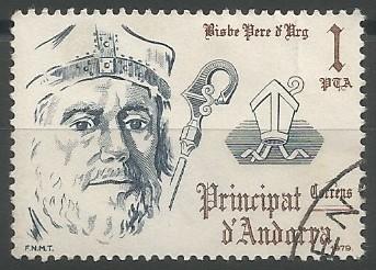 Pere d'Urg; bisbe d'Urgell, 1269-1293; copríncep episcopal d'Andorra, 1278-1293