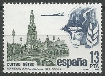plaza de España (Sevilla), 1929