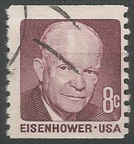 Dwight David Eisenhauer; president of the United States of America, 1953-1961