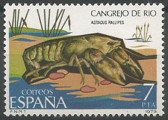 cangrejo de río (Astacus pallipes)
