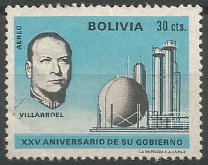 presidente de Bolivia, 1943-1946