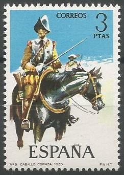 caballo, 1635