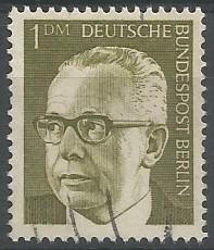 Bundespräsident der Bundesrepublik Deutschland (Bonn), 1969-1974