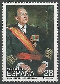 Juan de Borbón y Battenberg; conde de Barcelona, 1941-1993