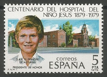 hospital del Niño Jesús, 1879