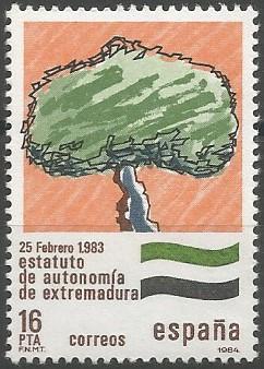 comunidad autónoma de Extremadura, 1983