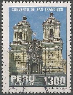 iglesia de San Francisco de Asís (Lima), 1657-1673