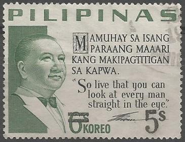 Elpidio Quirino; president of the Philippines, 1948-1953.