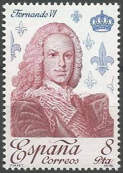 Fernando VI; rey de Castilla, Aragón y Navarra, 1746-1759