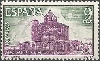 iglesia de Santa María de Eunate (Muruzabal), 1170