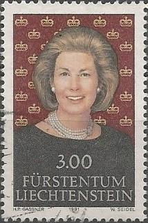 Marie Aglaë Bonaventura Theresia, Fürstin zu Liechtenstein, 1989-