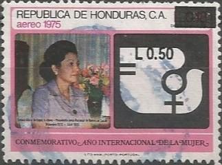 Gloria de López Arellano; presidenta de la junta nacional de bienestar social, 1972-1975