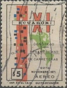 XI congreso panamericano de carreteras: San Francisco de Quito, noviembre de 1971