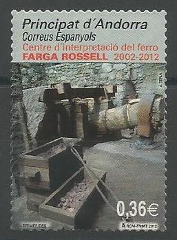 La farga Rossell (1842-1876) fou la darrera representant d'una variant tecnològica del procediment directe, que es desenvolupa als Pirineus orientals entre els segles XVII i XIX. Les anomenades fargues a la catalana, a diferència de les altres, disposaven d'una trompa hidràulica per insuflar aire a un baix forn d'estructura singular, essent així una combinació particular de tecnologia i treball.