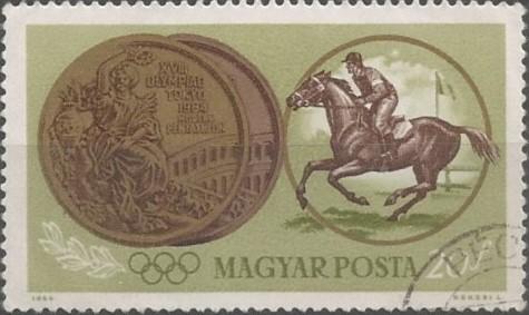 XVIII Olympiad Tokyo 1964: modern pentathlon