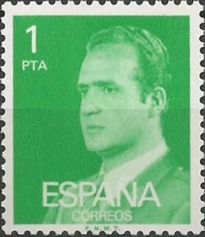koning van Spanje, 1975-2014