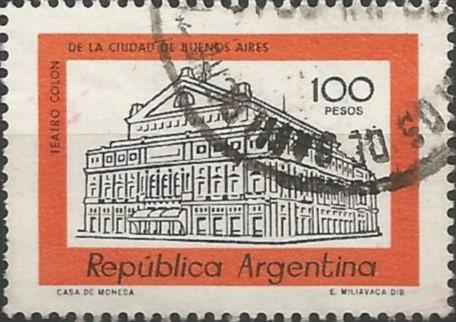 El teatro Colón fue inaugurado el 25 de mayo de 1908 con la ópera
