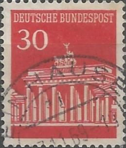 puerta de Brandeburgo, 1791