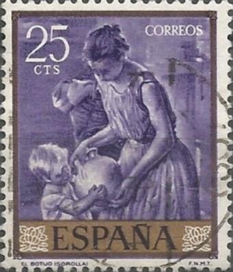 Joaquín Sorolla y Bastida; pintor: