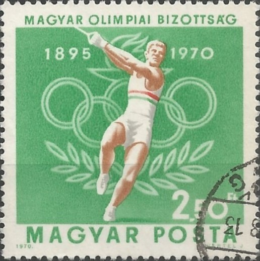 75th anniversary of the Hungarian Olympic Committee: hammer throwing