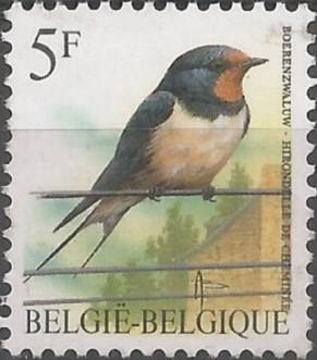 postzegelontwerper: boerenzwaluw
