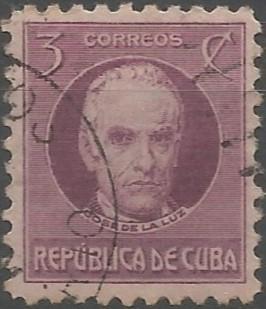 José de la Luz y Caballero; philosopher, pedagogue