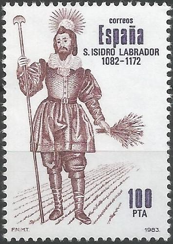 san Isidro Labrador; patrono de Madrid