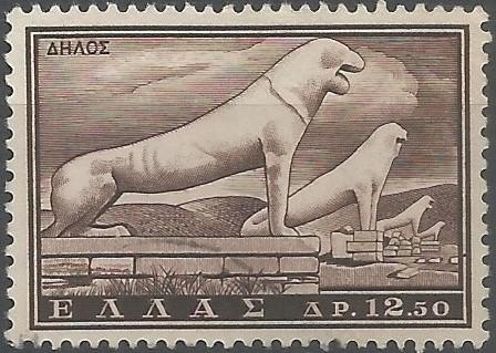Terrace of the Lions (Delos), 600 BCE