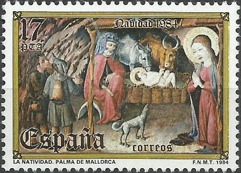 la nativitat, d'un retaule del Museu d'Art Sacre de Mallorca, 1401=1500