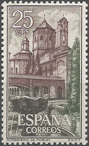 claustre major de l'abadia de Poblet, 1313
