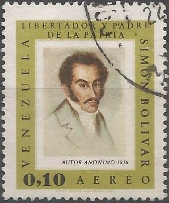 El bautizo de Bolívar tuvo lugar en la catedral de Caracas el 30 de julio de 1783, siendo inscrito con el epígrafe siguiente: Simón José Antonio de la Santísima Trinidad Bolívar Ponte y Palacios Blanco.