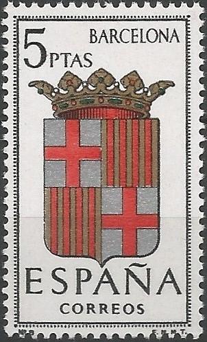 escut de la capital de la província de Barcelona