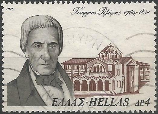 Located at Vasilissis Sofias avenue, the church of Saint George was part of the Rizarios Ecclesiastical School, which was founded in 1841 by Georgios Rizaris, merchant and national benefactor of Greece. The school was transferred to Chalandri in 1950, but the church remained at its original location.
