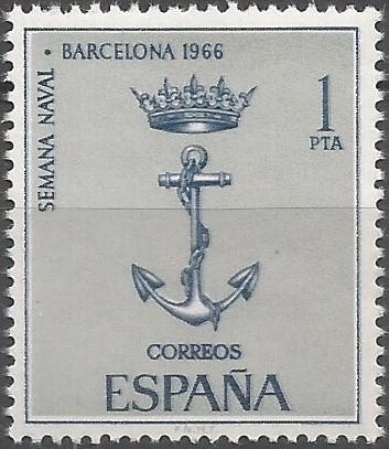 El ministerio de marina acordó la celebración de una semana naval en Barcelona, del 1 al 5 de julio, como síntesis de la labor desplegada para acrecentar el espíritu marítimo de la nación, El acto concentró a gran parte de la flota de guerra en el puerto, y en las dársenas tuvieron lugar ejercicios y demostraciones, incluyendo un desembarco anfibio en la playa de la Barceloneta. (BOE, 13/5/1966)