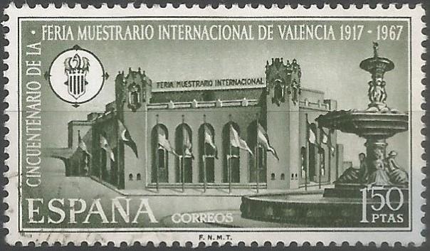 Ubicada en el Llano del Real, frente a los jardines de los Viveros, la Feria Muestrario Internacional de Valencia cumplió en mayo de 1967, el cincuentenario de la primera demostración, organizada por la Unión Gremial de Valencia en 1917.