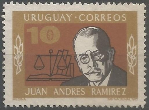 homenaje a jurisconsultos célebres de Uruguay: doctor Juan Andrés Ramírez Chain
