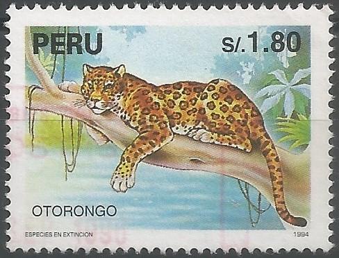 otorongo: especie en extinción