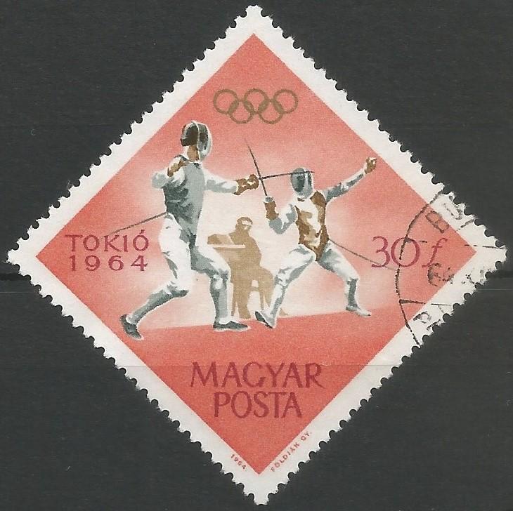 Los equipos masculinos de florete y sable de la Unión Soviética, ganaron la medalla de oro en la competición de esgrima, en los Juegos Olímpicos de 1964 celebrados en Tokio.