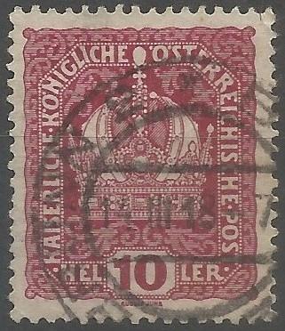 postage stamp designer: imperial crown of Austria