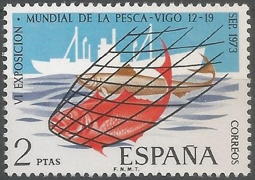 La VI exposición mundial de la pesca y su congreso tuvieron lugar del 12 al 19 de septiembre en Vigo. Acontecimientos de la mayor importancia e interés, no sólo por su volumen y extensión sino también por el número de asistentes extranjeros al congreso, donde se consideraron asuntos del máximo interés. (