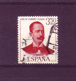José María Gabriel y Galán, poet