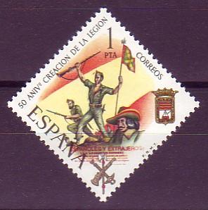 jefe del Tercio de Extranjeros, 1920
