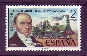 Miquel Biada, railway entrepreneur