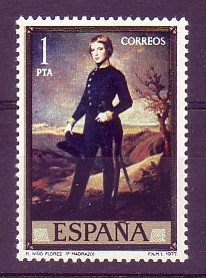cadete Federico Flórez, 1842