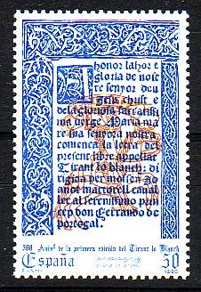 En tornar d'Anglaterra, el donzell Joanot havia actuat amb decisió per tancar la boda entre la seua germana i Ausiàs March (1439). Peró ningú no podia saber de què era capaç l'aventurer i novel·lista, després de la mort d'Isabel, veient com li fugien de les mans les possessions de la família. Acabaria a la presó, per ordre de la reina Maria, a causa d'aquest afer. (Josep Piera Rubio, 2002, 126-27)