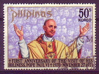 Giovanni Battista Montini; pope Paul VI